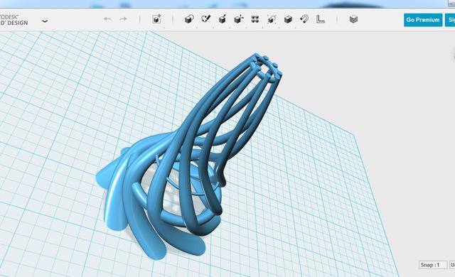 Autodesk 123d Modeling On
