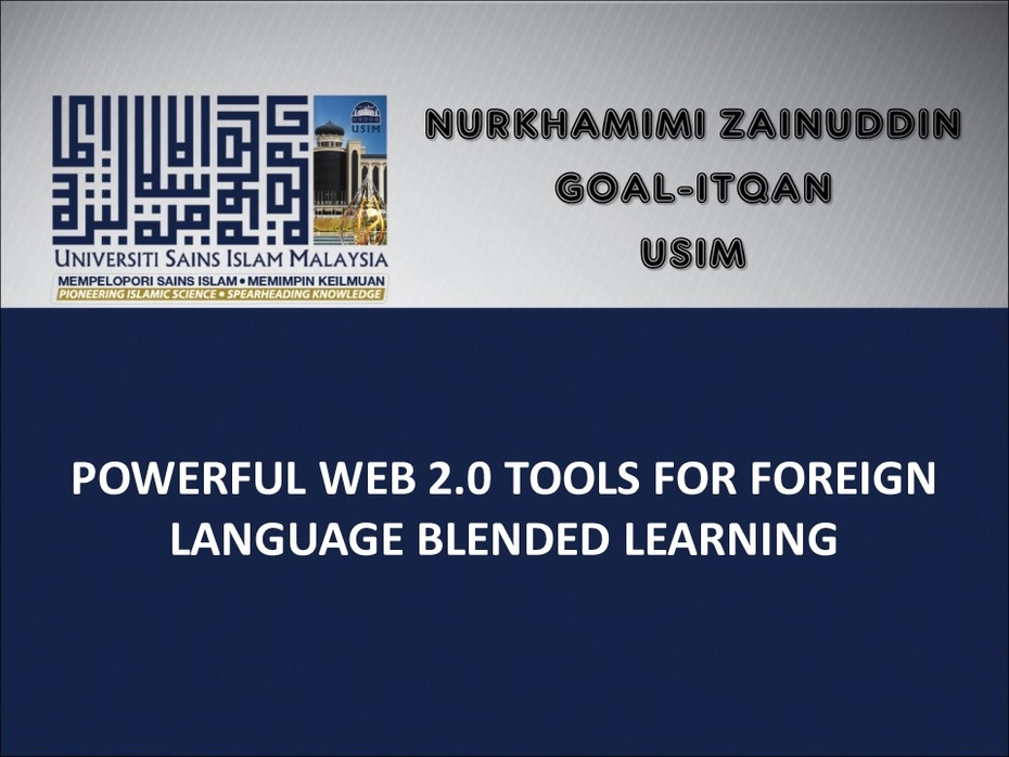 Image for Web 2.0 Tools for Foreign Language Blended Learning